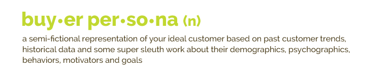 Buyer Persona Definition | Kiwi Creative