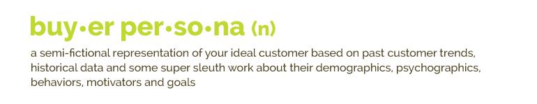 Buyer Persona Definition | Kiwi Creative